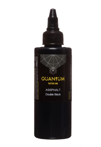 Quantum Tattoo Ink Assphalt 30ml