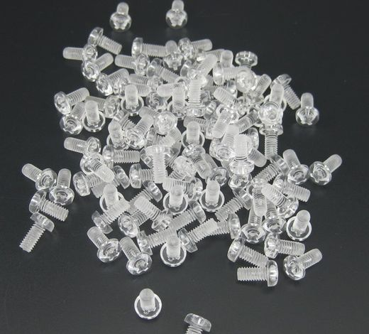 Plastic Front Binding Post Screw 10pic