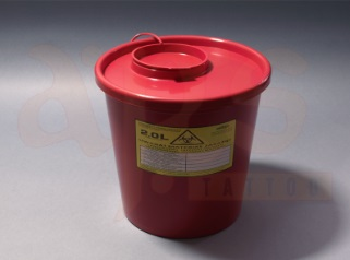 MEDICAL WASTE CONTAINER 2L
