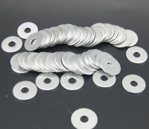 Flat Washers Stainless Steel 100pcs